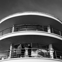 Modernism with all its curves and spirals