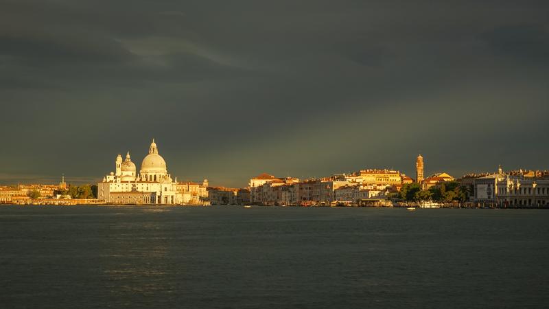 Sunrise over Venice