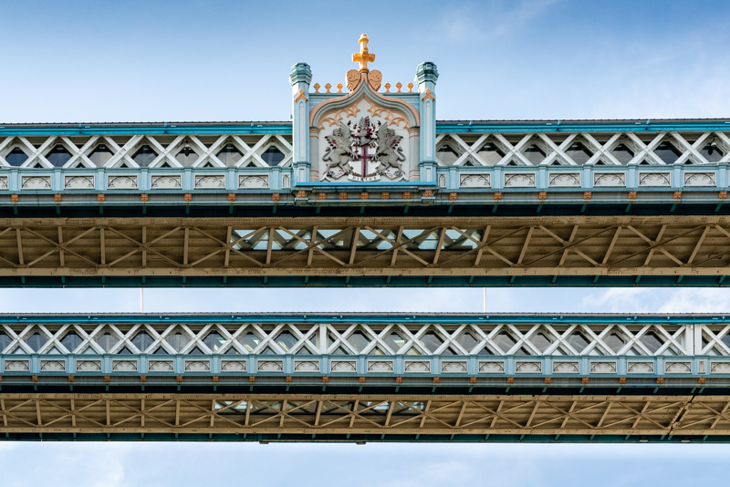upper levels of Tower Bridge