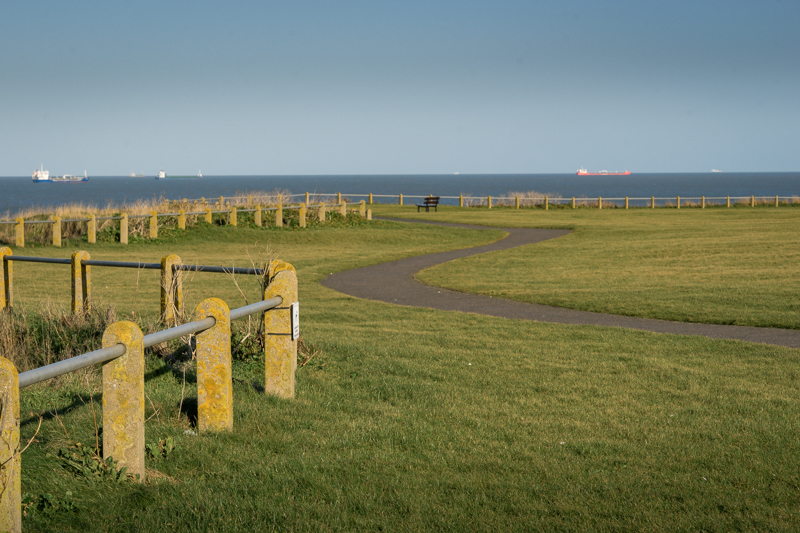 a winding path in Margate