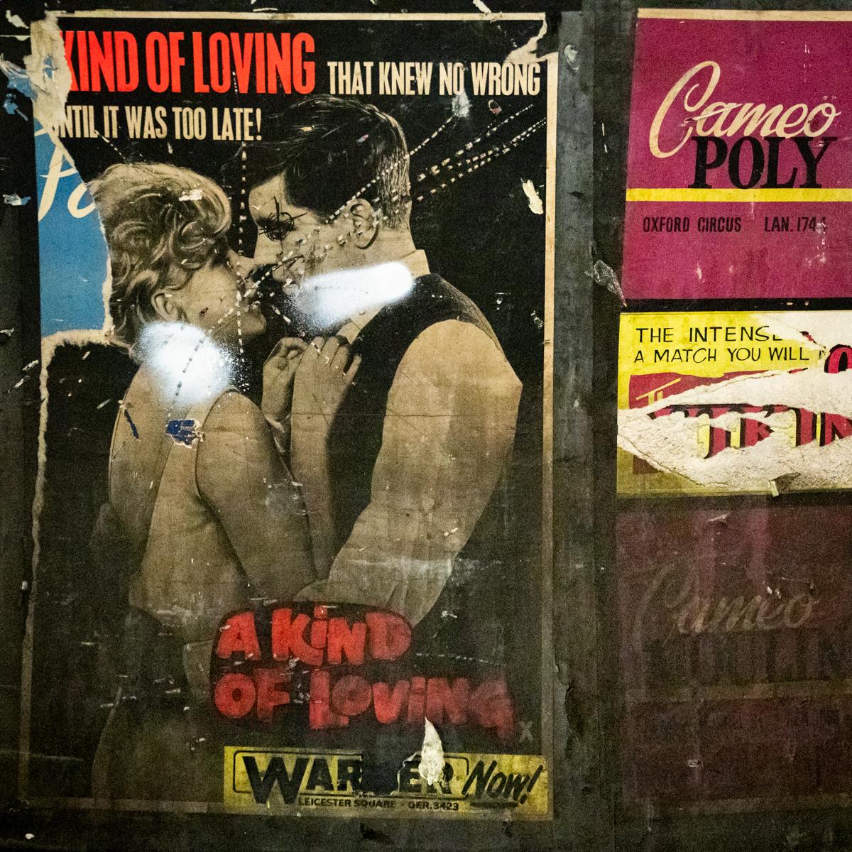 """Old poster for """"Kind of Loving"""" film"""
