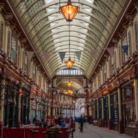Grab a snack in Leadenhall Market