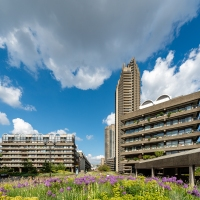 Hovering over the Barbican