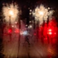 A rainy night in Edinburgh